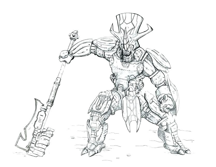 834x645 Halo Coloring Pages Halo Coloring Sheets Free Halo Reach
