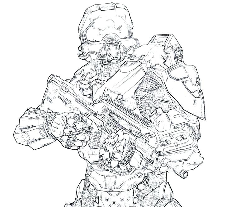 800x667 Master Chief Coloring Pages Halo Master Chief Coloring Pages