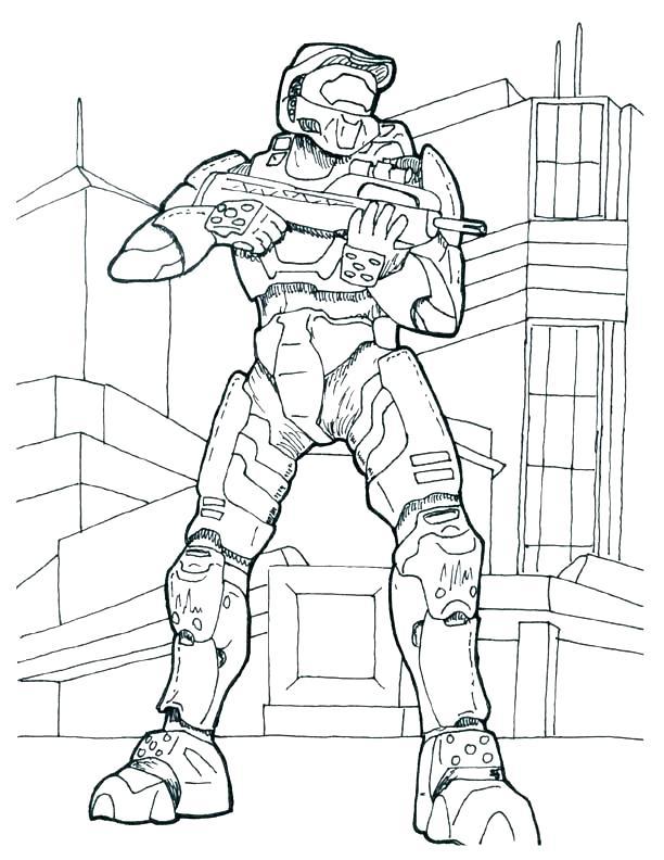 612x792 Spartan Coloring Pages Halo Sheets Elite Helmet