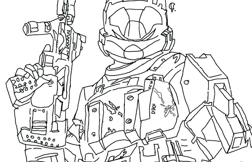 843x544 Spartan Coloring Pages Helmet Coloring Page Halo Spartan