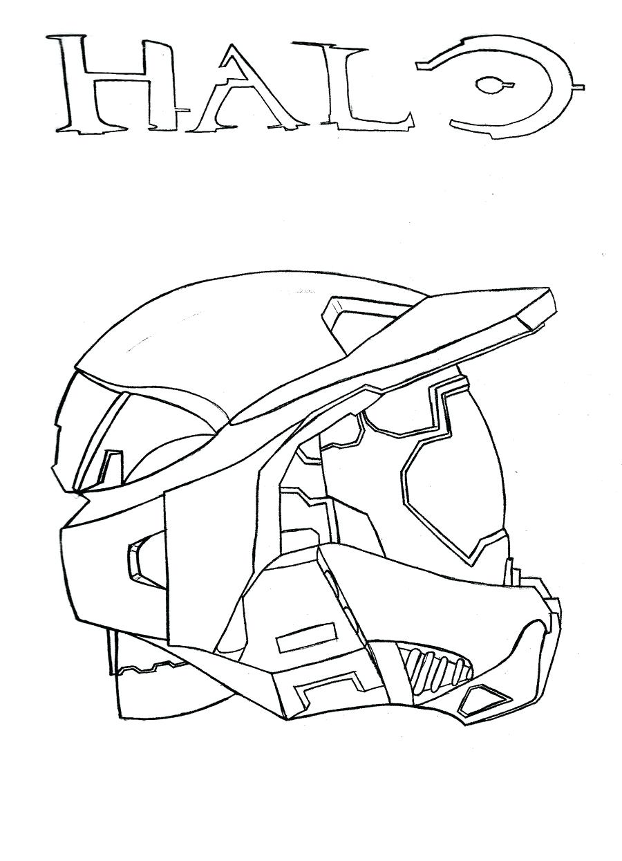 900x1245 Coloring Page Master Chief Coloring Pages Chiefs Helmet