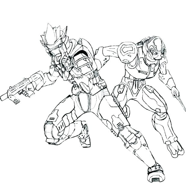 618x618 Master Chief Coloring Pages Master Chief Coloring Pages Appealing