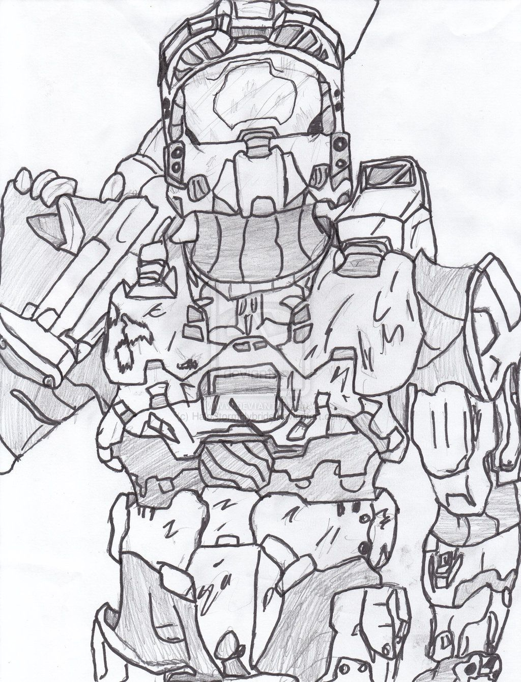1024x1339 Halo Coloring Pages Halo Coloring Pages Master Chief Coloring