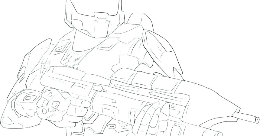 860x450 Master Chief Coloring Pages Halo Coloring Pages Halo Master