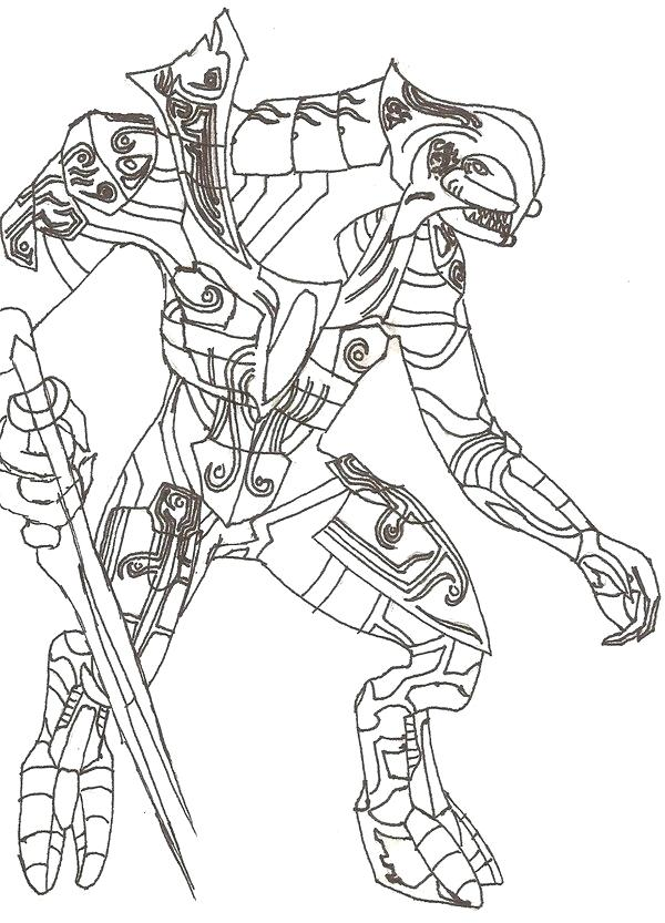 600x833 Halo Coloring Book As Well As Halo Coloring Page Halo Reach