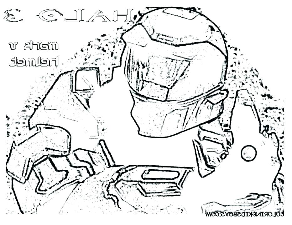 932x720 Halo Coloring Page Halo Reach Coloring Pages Halo Master Chief