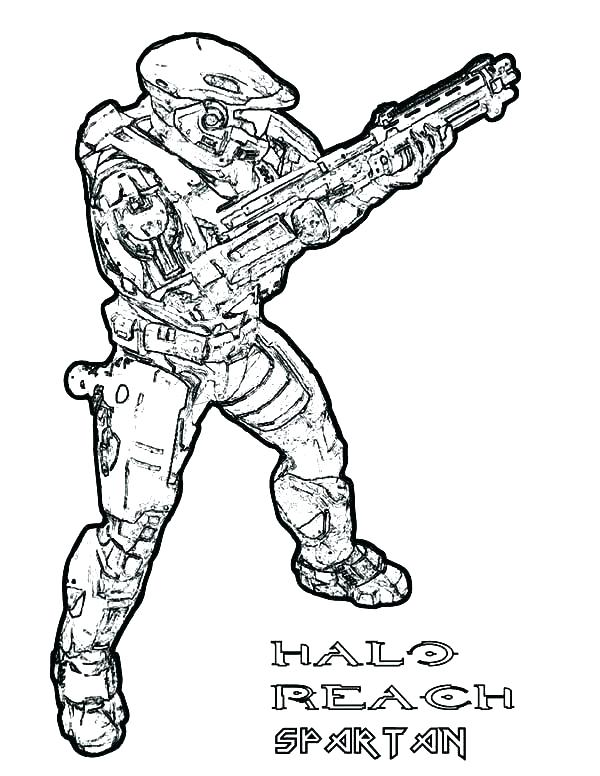 600x776 Army Coloring Pages Halo Coloring Page Halo Coloring Page Halo