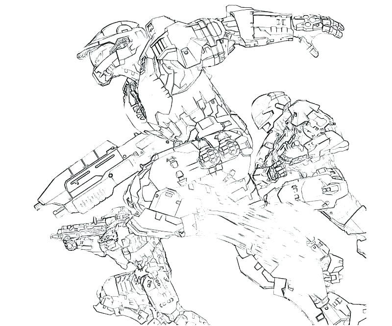 800x667 Halo Coloring Page Wonderful Extraordinary Halo Coloring Pages