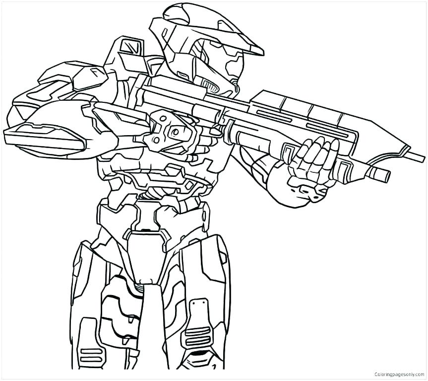 863x767 Halo Reach Coloring Pages Halo Ng Pages Halo Book Halo Reach Book