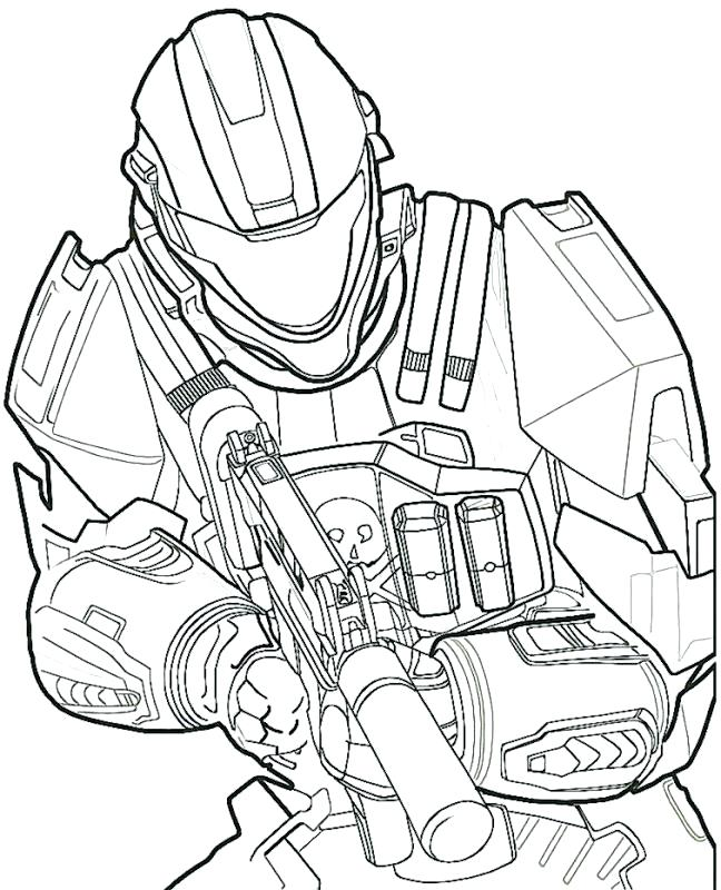 648x800 Halo Reach Elite Coloring Pages Gears Of War Book Free Colouring