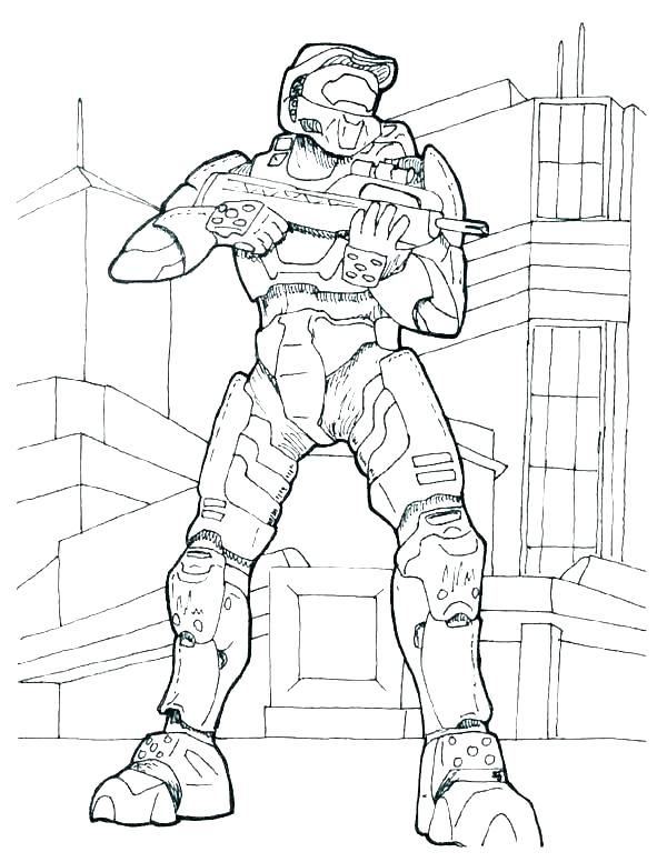 600x776 Spartan Coloring Pages Halo Reach Coloring Pages Spartan Coloring
