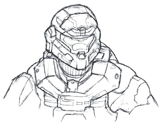 618x482 Halo Reach Coloring Pages Halo Spartan Coloring Pages Reach
