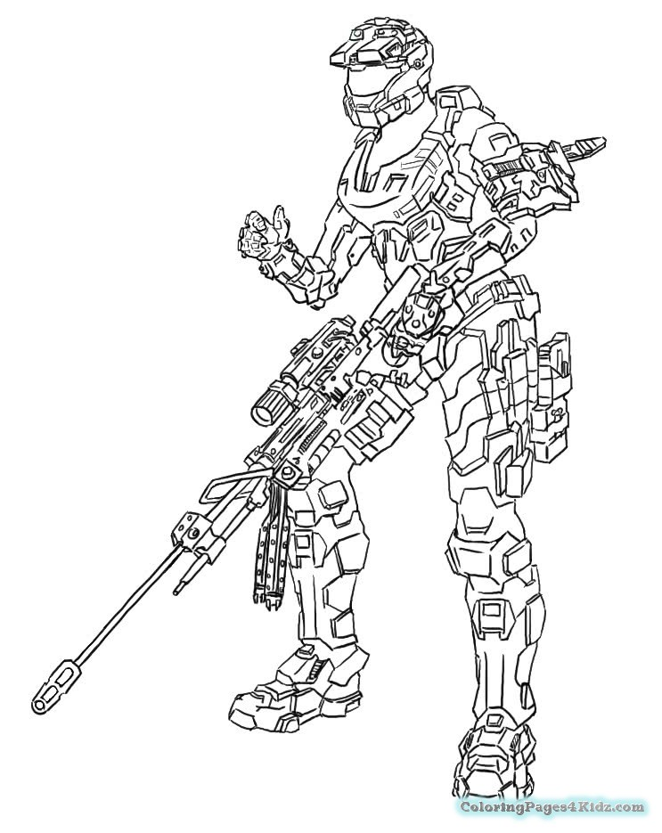 743x935 Halo Spartan Coloring Pages Coloring Pages For Kids