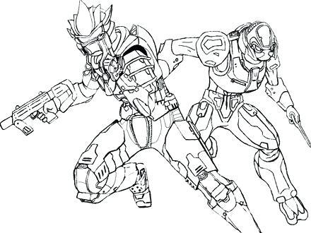 440x330 Halo Spartan Coloring Pages Printable Halo Coloring Pages Coloring