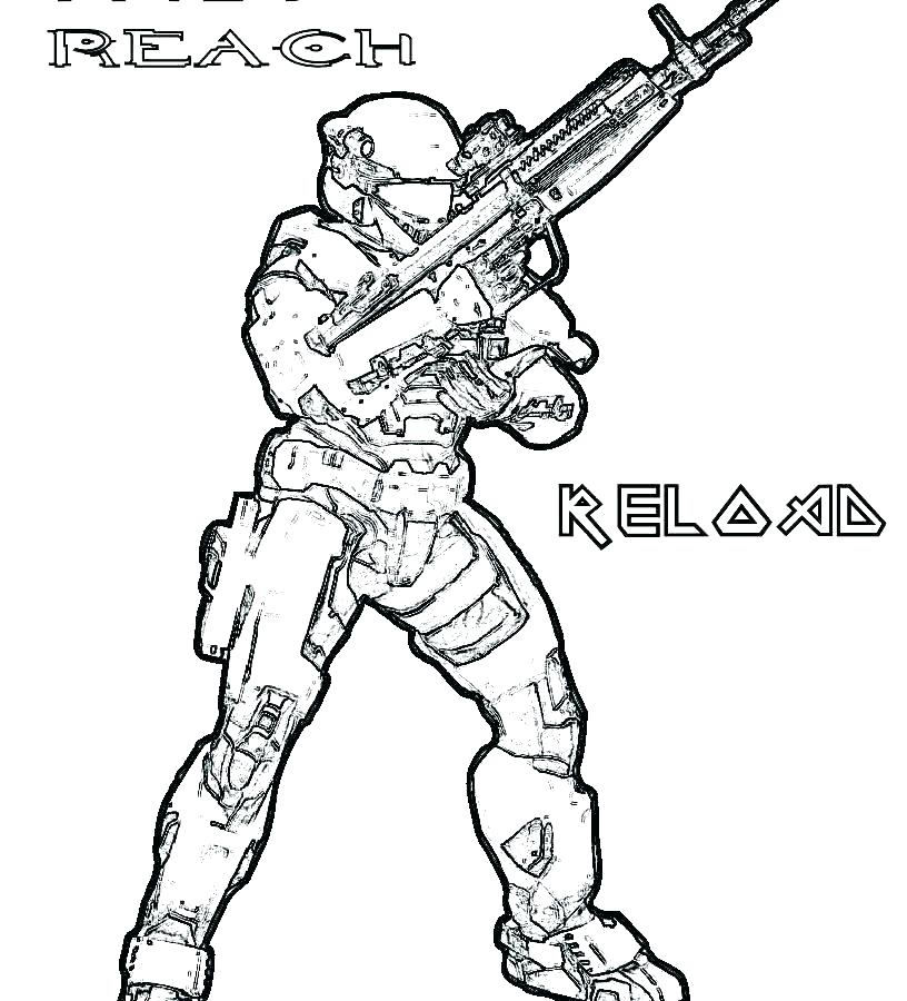 816x900 Spartan Coloring Pages Halo Coloring Page Halo Coloring Book As