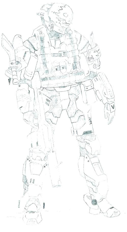 500x910 Coloring Pages Plus Halo Spartan Coloring Pages Free Halo Coloring