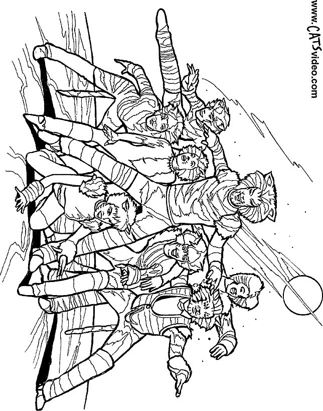 Hamilton Coloring Pages