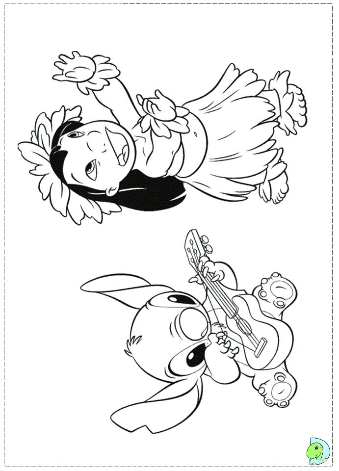 691x960 Lilo And Stich Coloring Pages Lilo And Stitch Coloring Pages