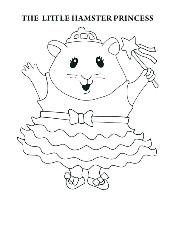 Hamster Coloring Pages at GetDrawings.com   Free for ...