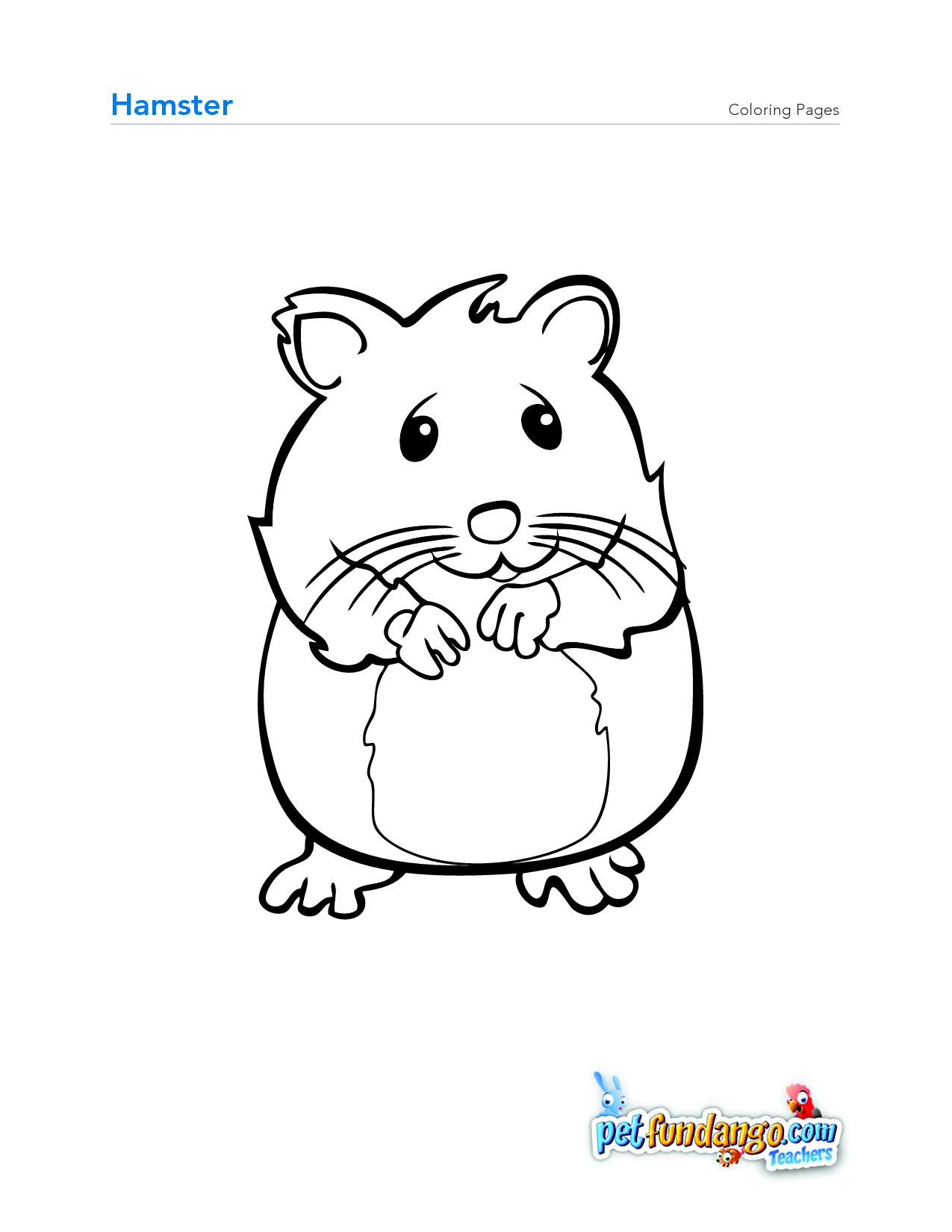 1275x1650 Hamster Coloring Page Osob Preschool Farm, Pet
