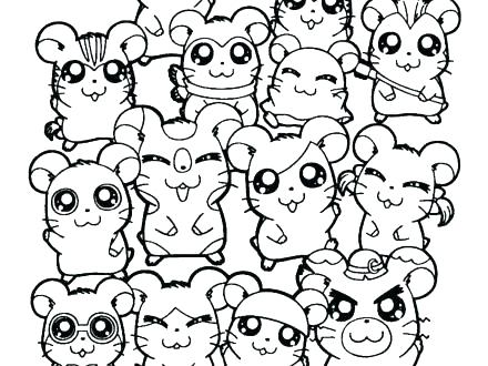 440x330 Hamster Coloring Page Click The Dwarf Hamster Coloring Pages