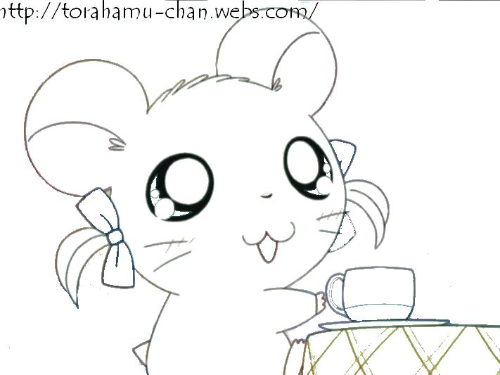 711x533 Hamster Coloring Page Cute Hamster Coloring Pages Cute Hamster