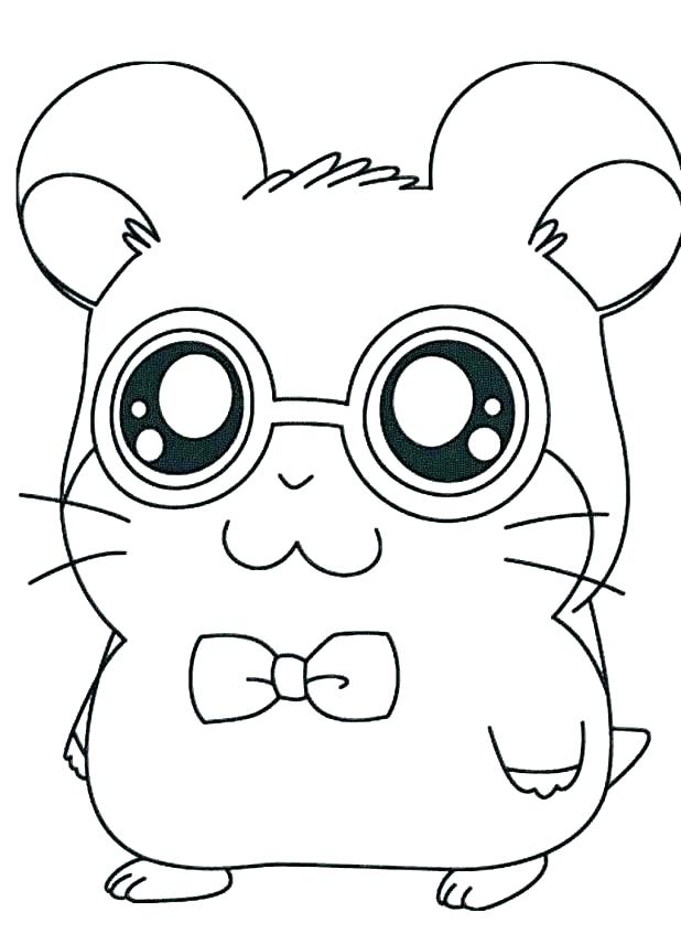 618x856 Hamster Coloring Pages Cartoon Hamster Coloring Pages