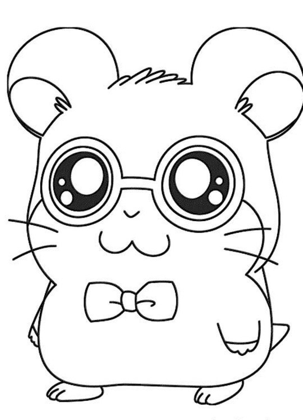1021x1414 Shocking Hamster Animal Coloring Pages Cute Baby Pics Of Ideas