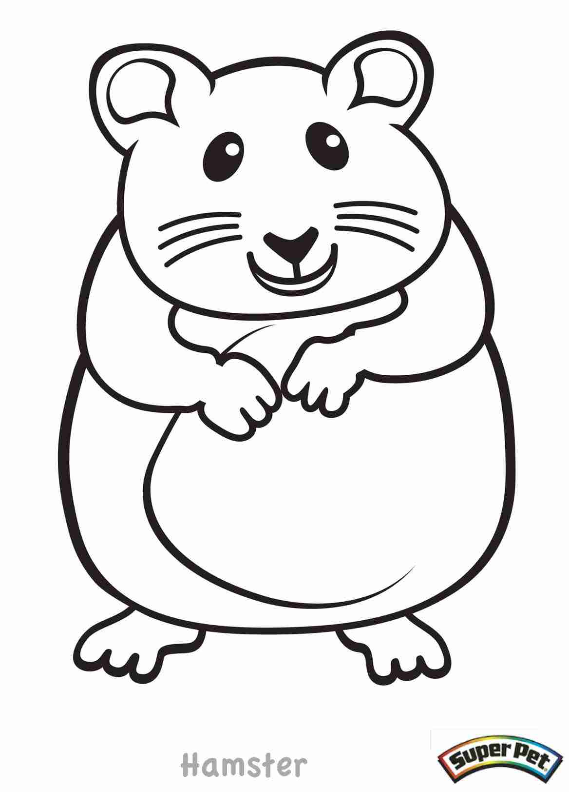 1168x1623 Top Free Printable Hamster Coloring Pages Online School Pet