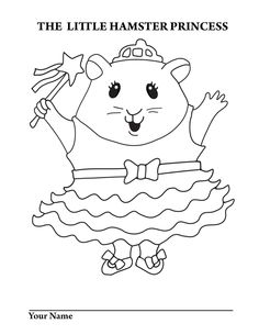236x305 Top Free Printable Hamster Coloring Pages Online School, Pet