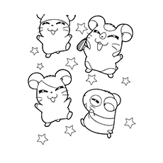 230x230 Top Free Printable Hamster Coloring Pages Online