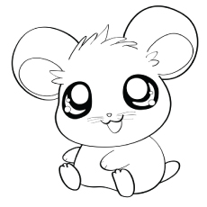 230x230 Wonderful Inspiration Hamster Coloring Pages Wheel Cute Dwarf
