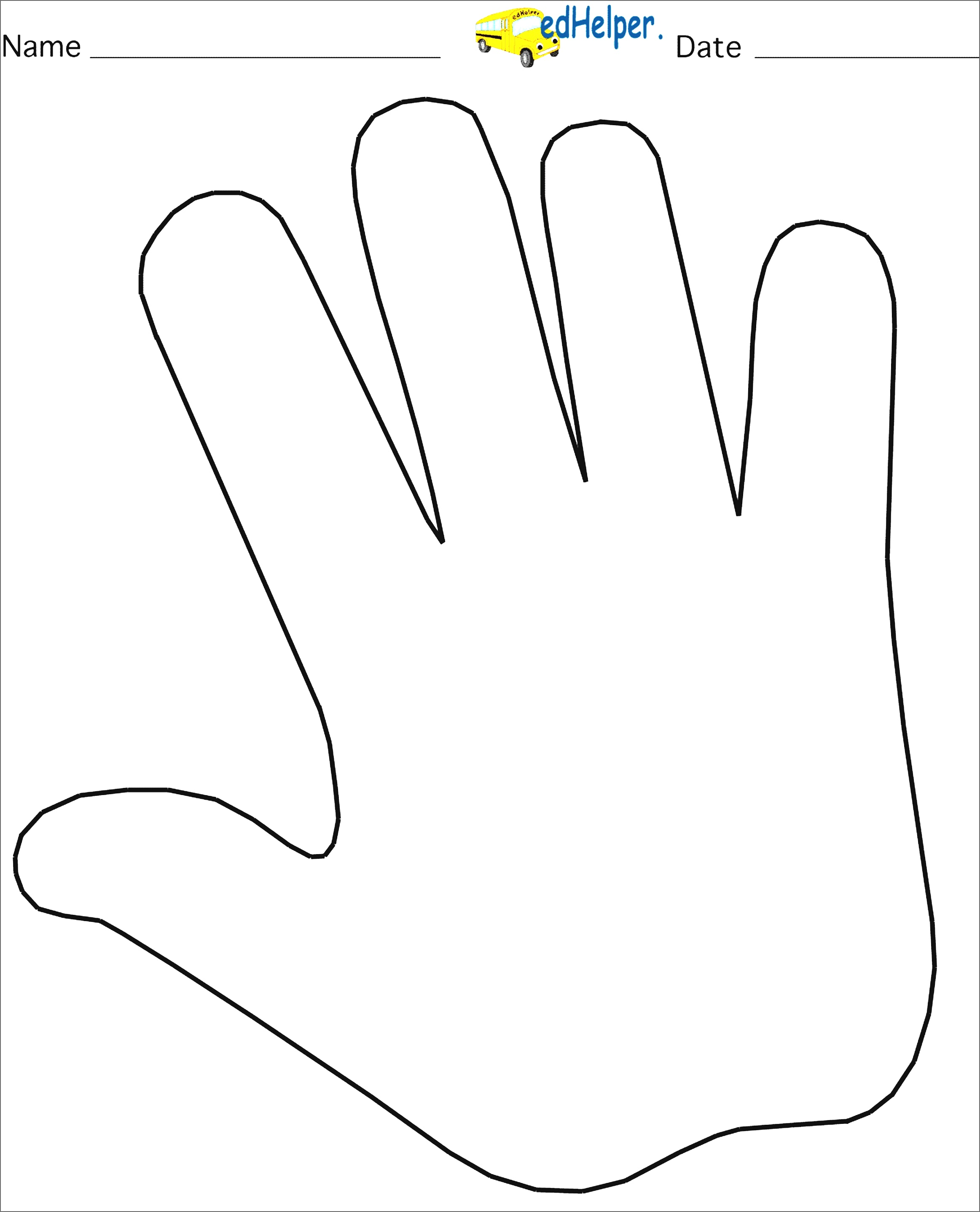 2325x2875 Helping Hands Coloring Page Free Printable Pages Unusual Hand Fair