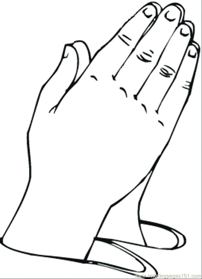 650x895 Praying Hands Coloring Pages Praying Hands Coloring Page As Well