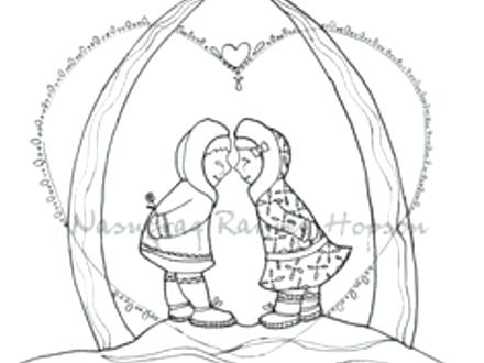 440x330 Alaska Coloring Pages Hand Drawn And Coloring Pages On Alaska