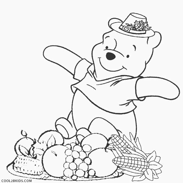 600x600 Printable Thanksgiving Coloring Pages For Kids