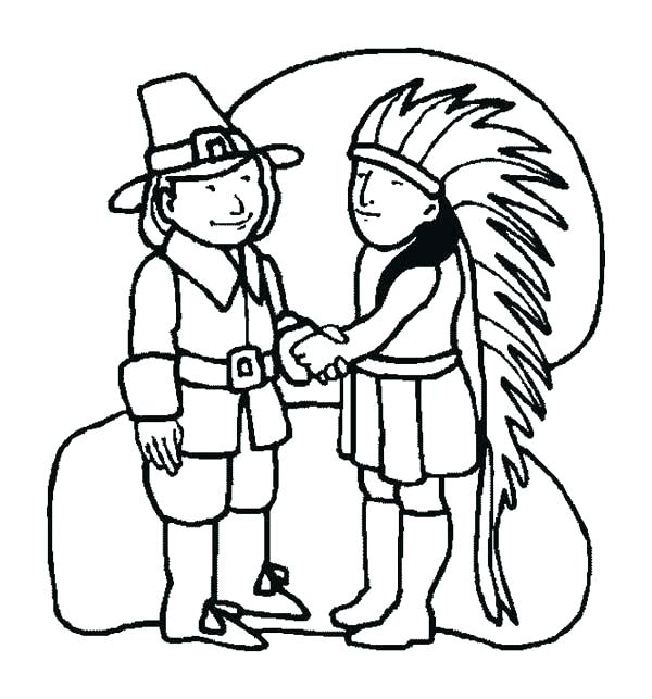 600x643 Thanksgiving Day Coloring Pages Nksgiving Day Coloring Pages