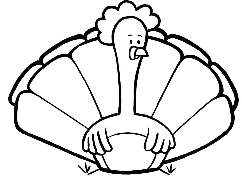 1024x765 Thanksgiving Turkey Coloring Pages Printables Turkey Coloring