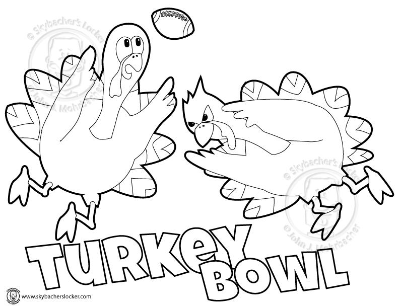 792x612 Turkey Bowl Free Coloring Page Skybacher's Locker