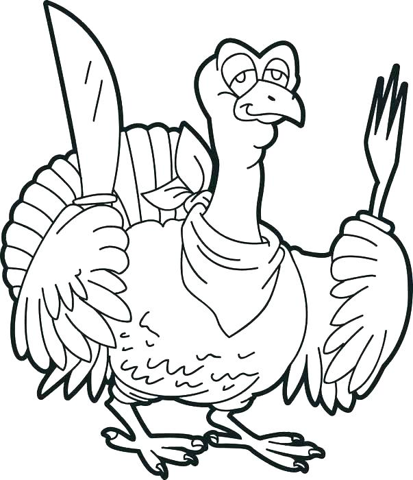 603x700 Turkey Coloring Sheets To Print Coloring Pages Turkey Printable