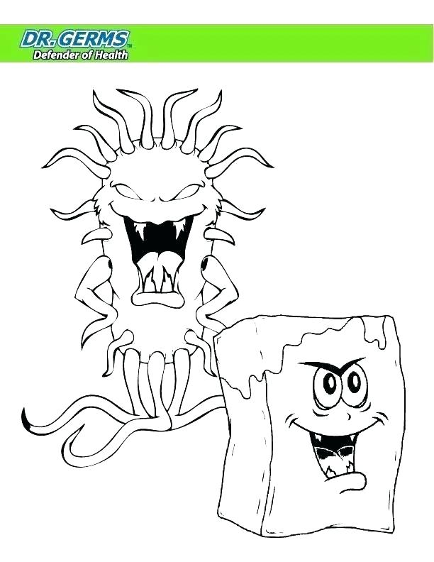 612x792 Germ Coloring Pages Germs Coloring Pages Germs Coloring Pages Hand
