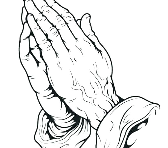 678x600 Praying Hands Coloring Page Praying Hands Coloring Page
