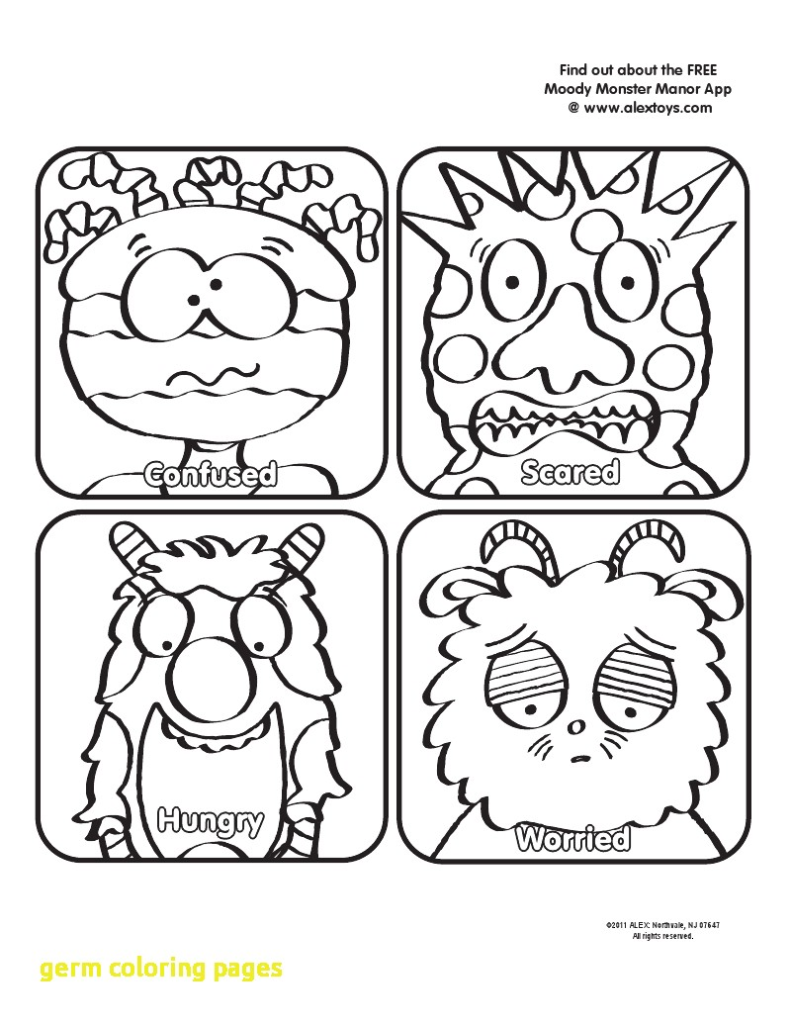 791x1024 Germs Coloring Pages Hand Washing For Preschoolers Scott Fay