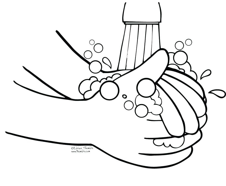 940x774 Handwashing Coloring Pages Praying Hands Coloring Page Hand