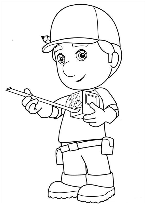 Handy Manny Tools Coloring Pages At Getdrawings Com Free For