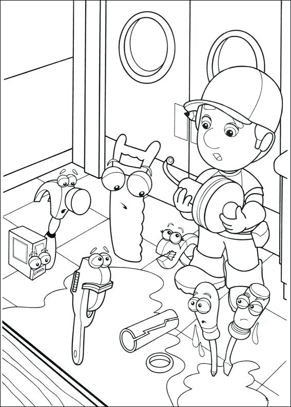 567x794 Handy Manny Coloring Pages Handy Coloring Page Source Kids N Handy