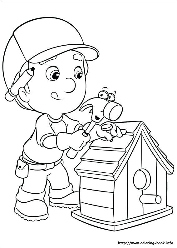567x794 Handy Manny Tools Coloring Pages Coloring Pages Tools Coloring
