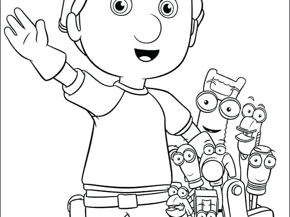 567x425 Handy Manny Coloring Pages