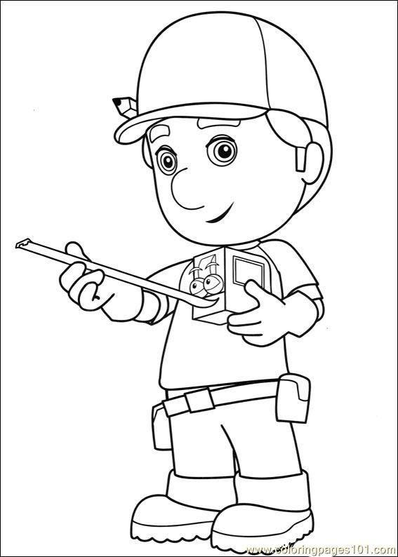 Handyman Coloring Pages At Getdrawings Com Free For Personal Use