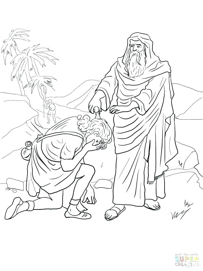 671x895 Hannah And Samuel Coloring Page And Coloring Page Coloring Page